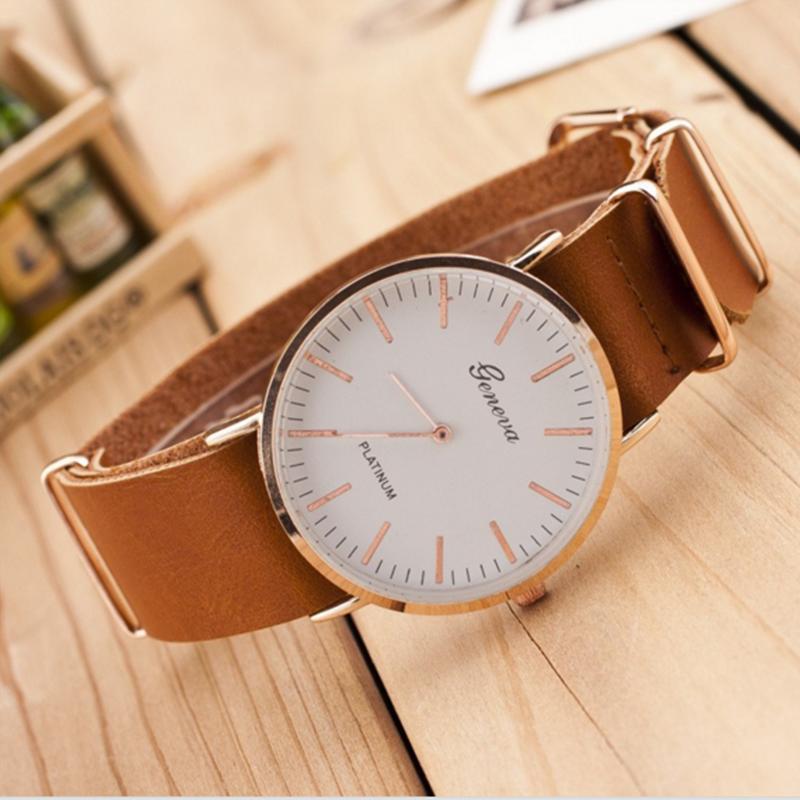 Kožené hodinky Mr. Brown