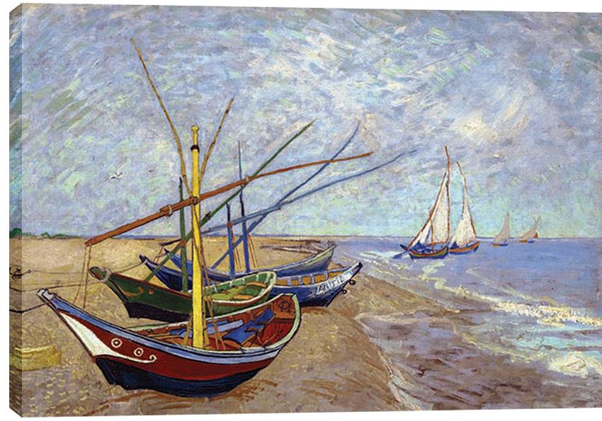 Obraz na plátně Lodě 100 x 70 cm - 1699 Kč