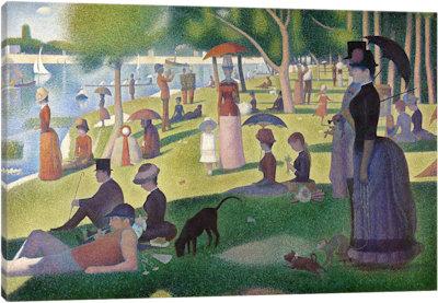 Obraz na plátně - Sobotní odpoledne 100 x 70 cm - 1699 Kč