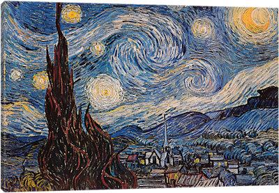 Obraz na plátně - Van Gogh 100 x 70 cm - 1699 Kč